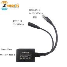 GPOE 24v10w Poe Inline Converter Voor 12 Volt En Zonne Poe Conversies Direct Step Up Voltage Om Gereglementeerde 24 Volt