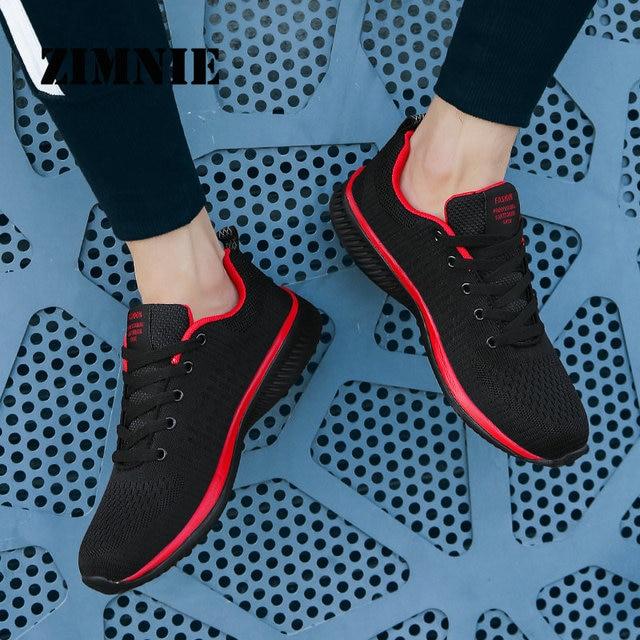 ZIMNIE Men Running Shoes Sneakers For Men Comfortable Sport Shoes Men Trend Lightweight Walking Shoes Breathable Zapatillas 5