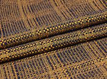 Gold Woven bright silk woollen wool fabric coat ,printing Textile hollandais african sequin Christmas cloak patch fabric A131 textile creations 1336 rustic woven fabric small