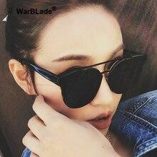WarBLade Women Cat Eye Sunglasses Fashion luxury Brand Designer lady female mirror Points Sun Glasses for women lunettes femme