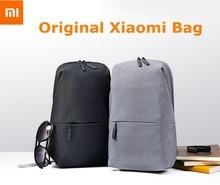 100% новый оригинальный xiaomi рюкзак мужчины женщины малый размер плеча типа унисекс рюкзак с 4l большой емкости школьные сумки