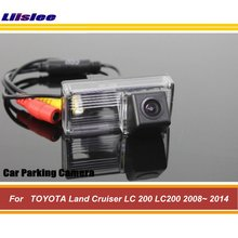 цена на Vehicle Backup Rear Camera For TOYOTA Land Cruiser LC 200 LC200 2008-2012 2013 2014 Reverse Rearview Parking Camera HD CCD CAM