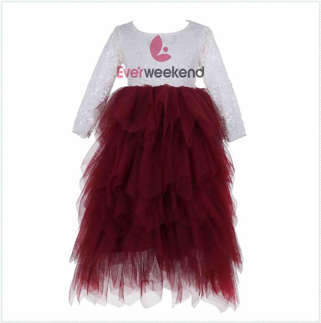 Everweekend Princess Girls Birthday Party Dress