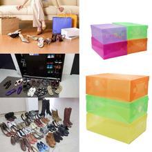 Shoe Storage Box Shoebox Case Home Household Organizer Decors  Thickened(China)