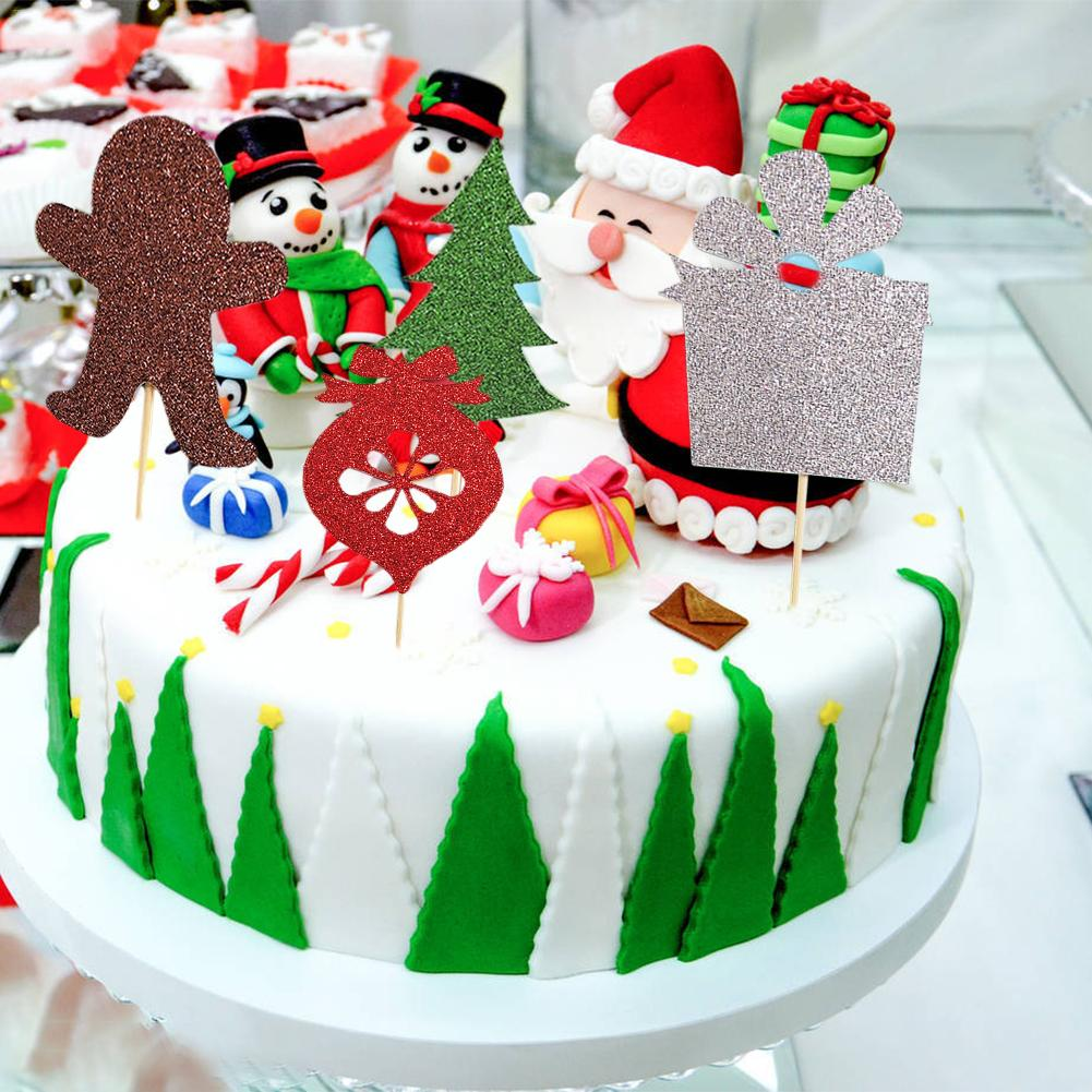 Cute Christmas Birthday Cakes Topsimages