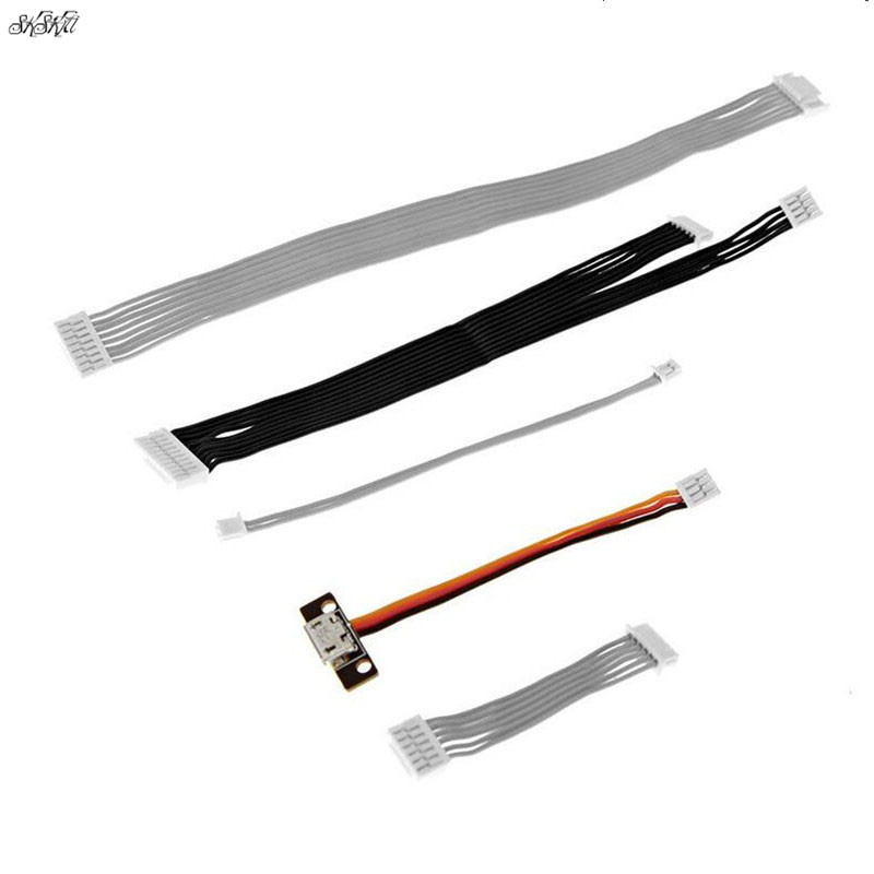 Phantom 3 Cable signal/Gimbal connect/ Visual postioning/Parameter reading cable for RC FPV DJI Phantom 3 Professional Advanced(China)