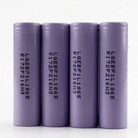 Sofirn 4pcs Original 3.6V 18650 3350mAh For LG Battery INR18650F1L Rechargeable Battery INR18650 F1L