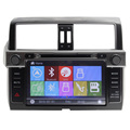 Wince6.0 Double Din For Toyoto 2014 Prado Car DVD Player Steering Wheel Control Bluetooth RDS Multimedia System HD Touch Screen