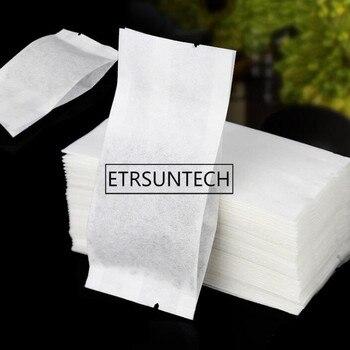 1000pcs 5*10.5cm Small Cotton Tea Packaging Bag Tea Packing General Bag Heat Sealing Vacuum Inner Bag Moistureproof Pack Pouch