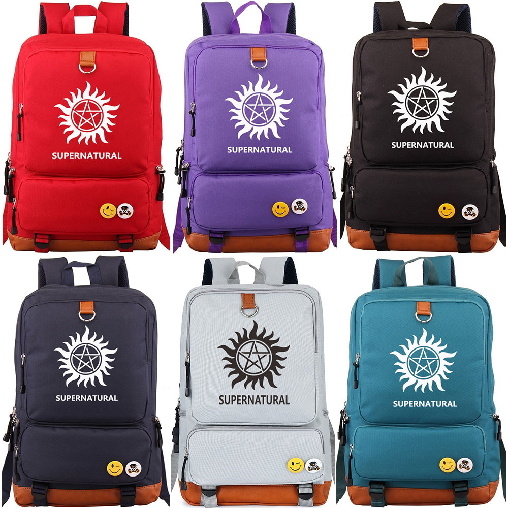 Christmas Gift Supernatural Sun Star Boy Girl Children School bag Women Bagpack Teenagers Schoolbags Canvas Men Student BackpackChristmas Gift Supernatural Sun Star Boy Girl Children School bag Women Bagpack Teenagers Schoolbags Canvas Men Student Backpack