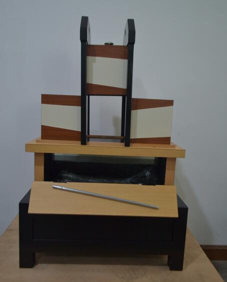 Tri-Sezione Illusione Trucchi Magici Mago Professionista Magie Box Arm Magica Illusione Fase Trucco Puntelli