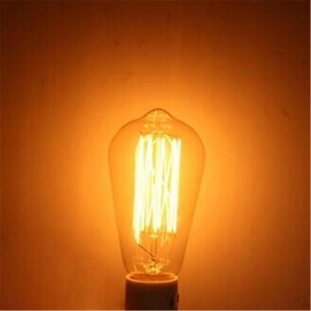 Купить с кэшбэком E27 ST64 25W Ampoule Edison Filament bulbs Lampe  Classique Vintage Antique  Retro Vintage Industrial Incandescent (AC220)