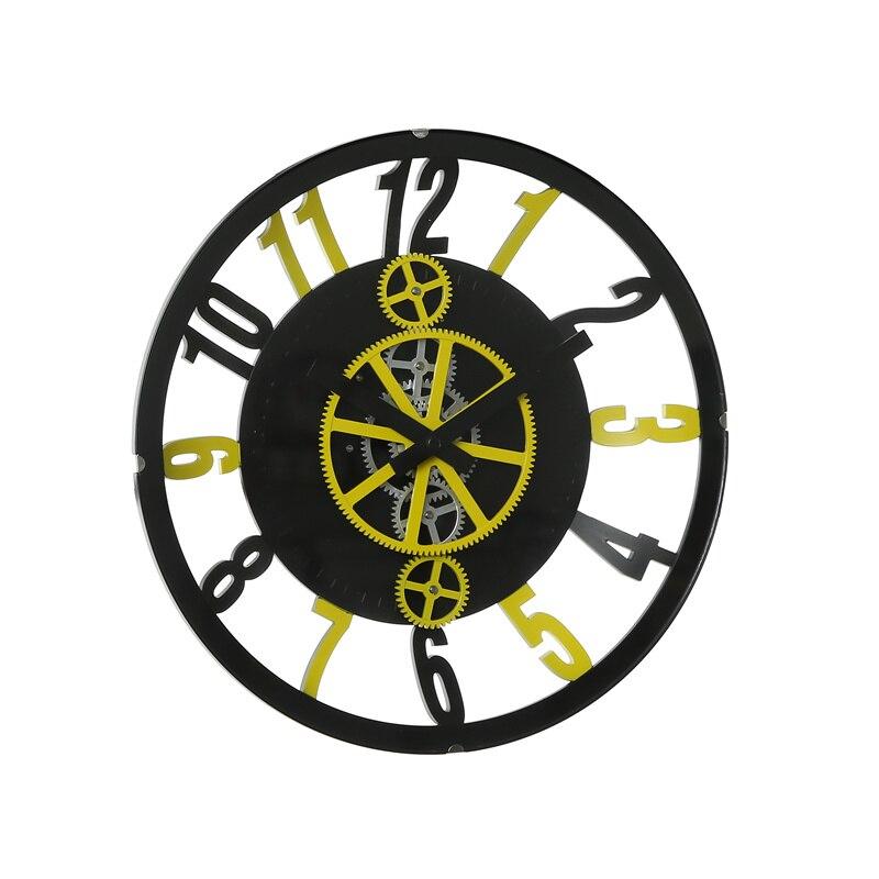 Autobots engrenage horloge engrenages combiné muet machine noyau européen rétro salon bureau idée cadeau horloge murale
