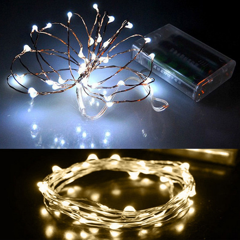 Battery Operated Copper Wire Waterproof