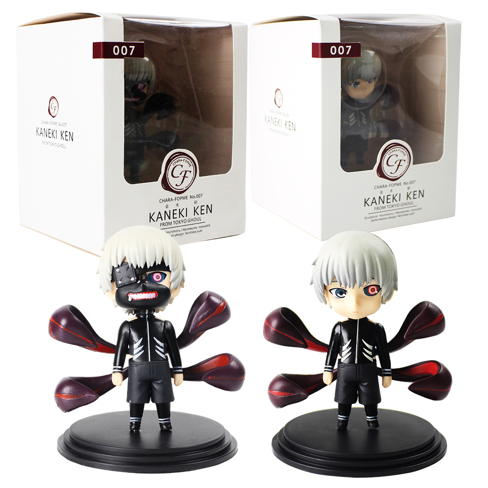 2pcs/lot Tokyo Ghoul Action Figure Kaneki Ken Awakened Ver. Anime Model Toy Children Gift