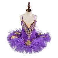 2019 white Tutu Ballet Dress Girls' Professional Swan Lake Ballerina Dress Skirt Dancewear for woman 4colors