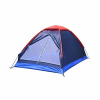 Folding Waterproof Single Layer Two People Tent Outdoor Ultra Light Rainproof Windproof Picnic Sleep Camping Beach