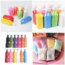 2,3 мм-3,5 мм пенополистирол пенопласт мини-шарики DIY разные цвета украшения 1 бутылка/упаковка