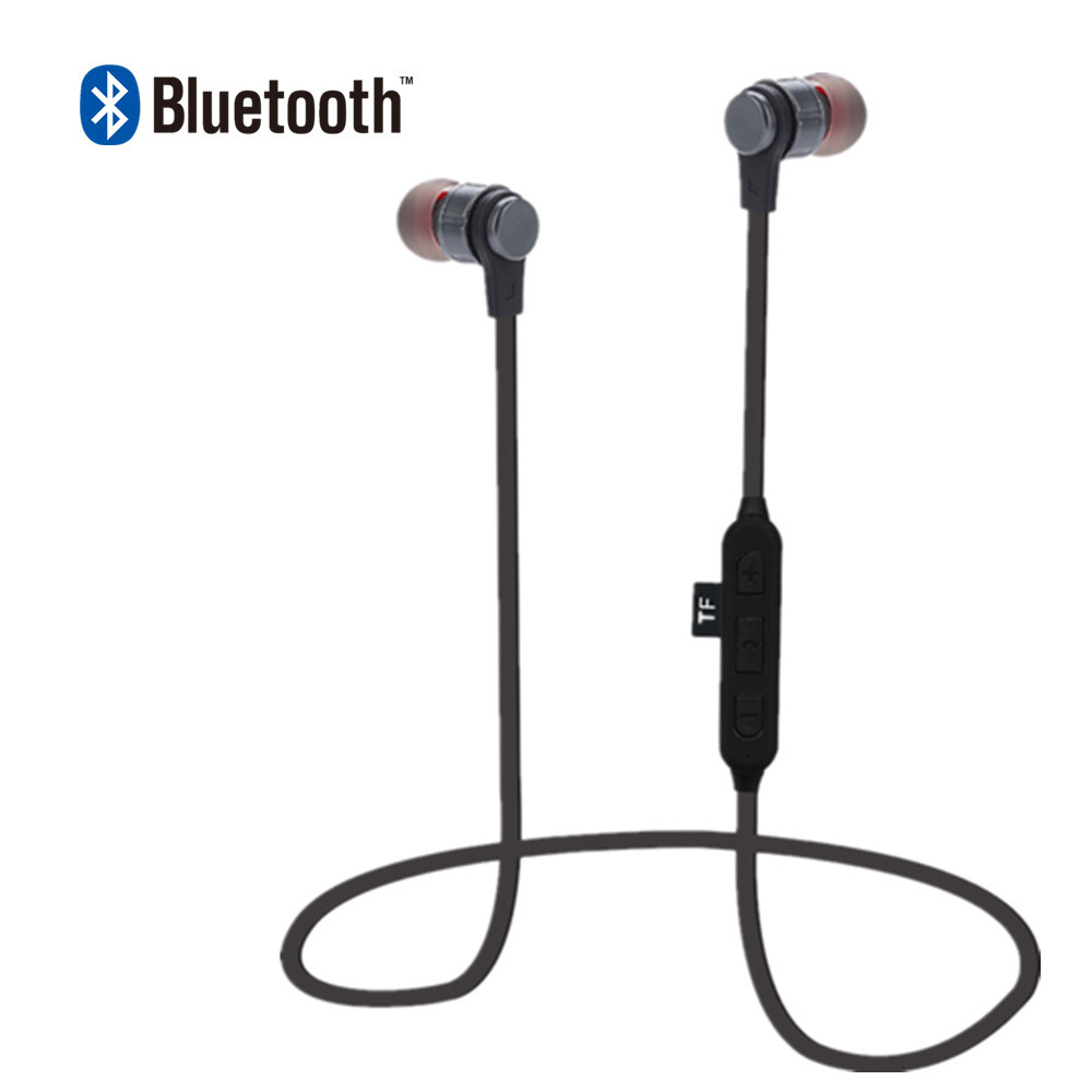 FGHGF GF01 MP3 Player Bluetooth Headphone Wireless Sport Headset MP3 Player Stereo Earphone TF Card MP3 Earphones Max to 32GB ...