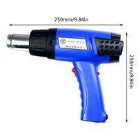 Hot Air Gun Thermostatic Plastic Welding Torch 2000W Pp Plastic Electric Heat Gun Digital Display Speed Control