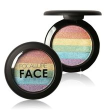 6 Mix Colors Palette Cosmetic Makeup Blusher Shimmer Powder Contour Eye shadow Face Changing Highlight Rainbow Eyeshadow
