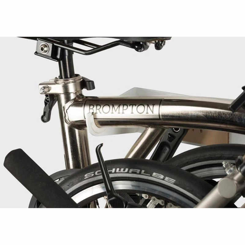 Folding bicycle parking rack aluminum display stand for brompton bike BMX wall storage rack