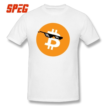 T-Shirt Bitcoin Deal With It