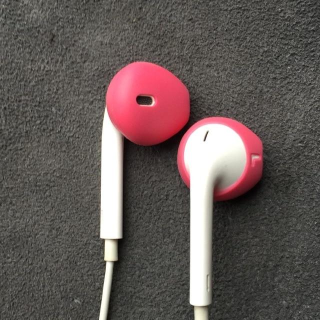Фото силиконовые накладки для наушников iphone5 5s 6 6plus 6s plus