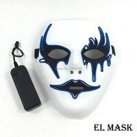 Toptan EL Maskesi 10 parça el tel Parlayan maske 10 Renk Seç Için Cadılar Bayramı maskesi parti malzemeleri Moda Düğün Dekorasyon