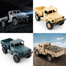 1 16 2 4G 4WD Military Truck Four wheel Drives Off road Climbing font b Car