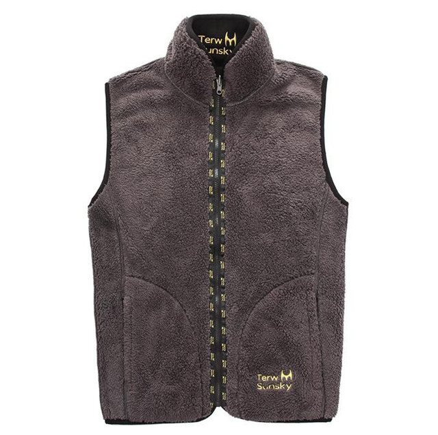 New Autumn/winter vest reversible style men thicken fleece fashion waistcoat  jacket Autumn men vest