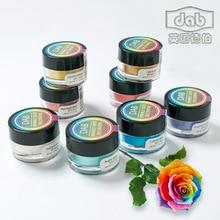 3pcs Dab Edible color powder turning sugar raw material flash pigment 3 g