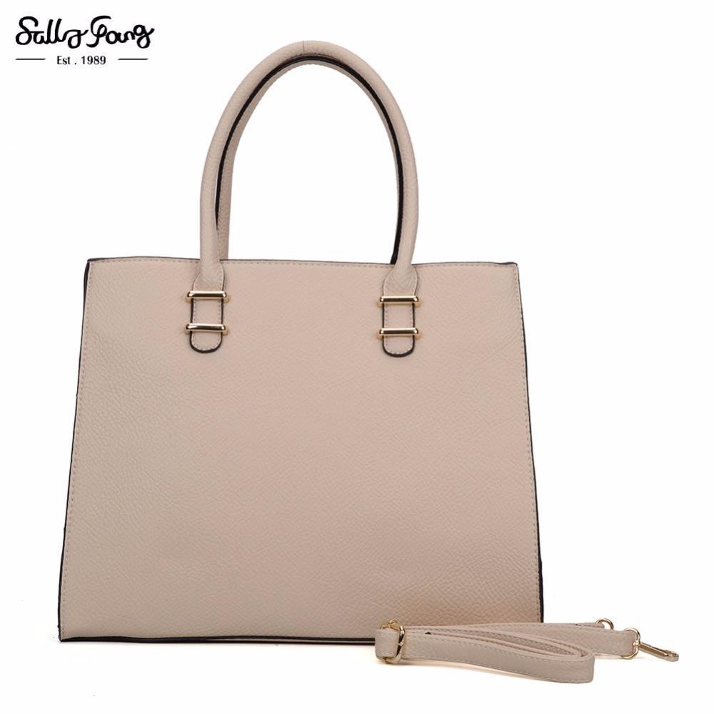 Sally Young International Brand Fashion Casual Tote Fashion Women Bag Bolsa Feminina Solid Women Handbag Shoulder bags VK6017