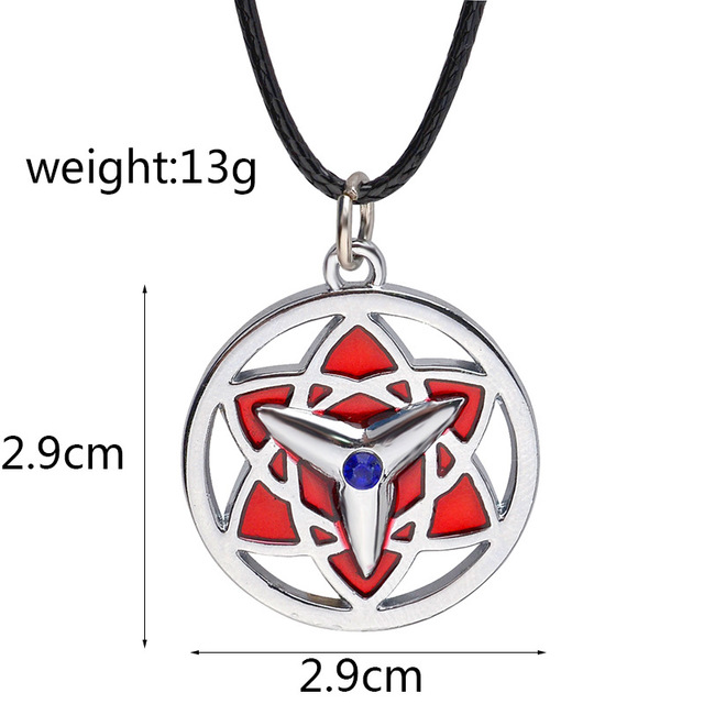 8 Designs Naruto Symbol Necklace Pendant