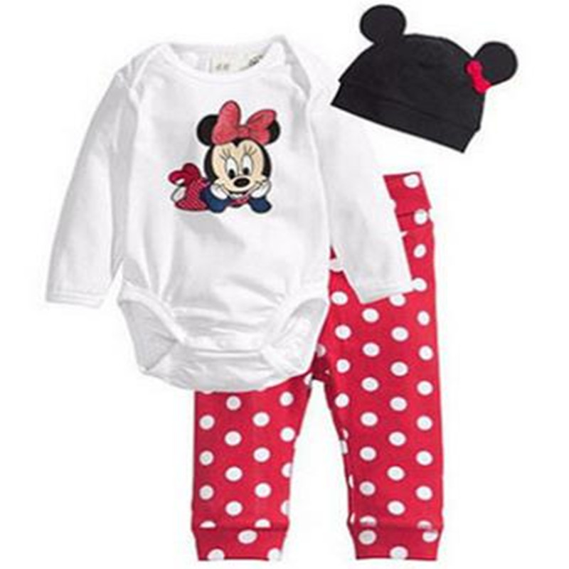 2017 Spring Baby Clothing Sets Children Boys Girls Kids Brand Sport Suits Tracksuits Cotton Short + Pants + Hat 3pcs