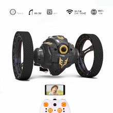 Updated Rh805a 2.4g Wifi Fpv 720p Hd Camera Rc Jumping Car Jump High Stunt Music Led Headlights Bounce Gift Toy ZLRC