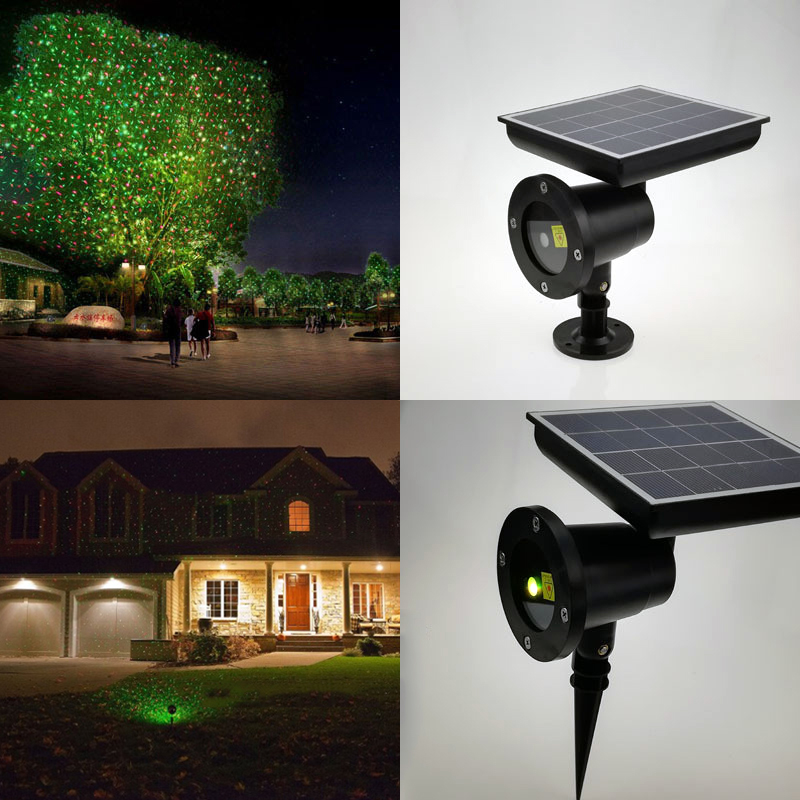 Solar Power Garden Light Outdoor Lawn Projector Lamp Outdoor Waterproof Christmas Party Yard Garden Lighting Wedding Decoration stainless steel solar lawn light waterproof led solar lawn lamp outdoor garden yard lamp wedding party christmas lawn lamps