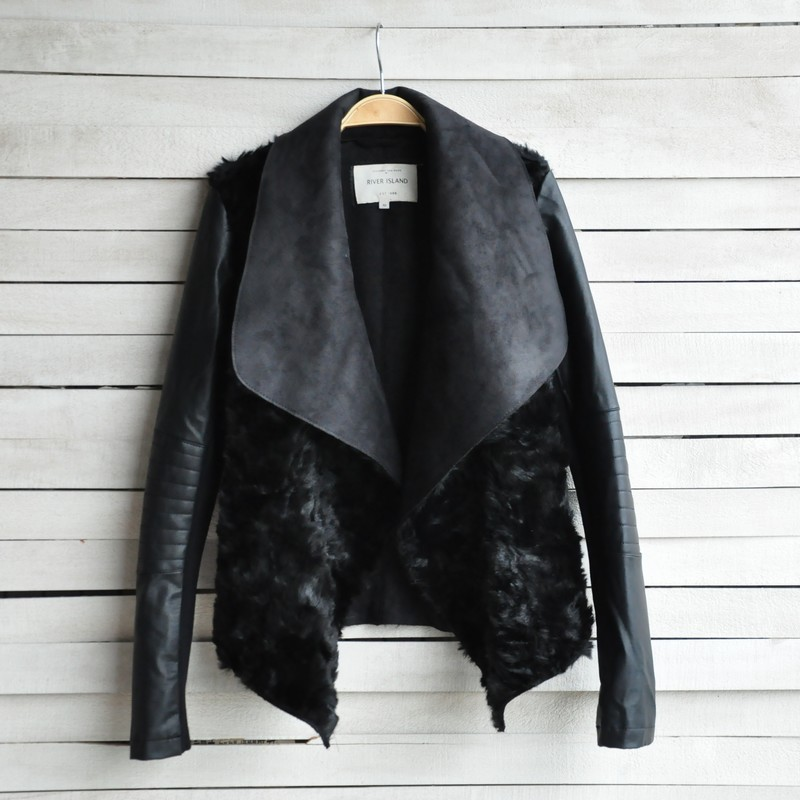 Popular Leather Fur Jacket-Buy Cheap Leather Fur Jacket lots from