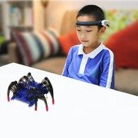 Eva2king робот паук Brainlink высокотехнологичные игрушки Jogos infantis educaionais Игрушки для мальчиков Oyuncak Zabawki dla dzieci подарки для игры в голову