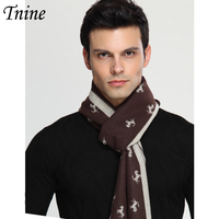 Winter Scarf For Men Fashion Luxury Brand Desinger Imitation Cashmere Horse Scarf Men Casual Business Thick