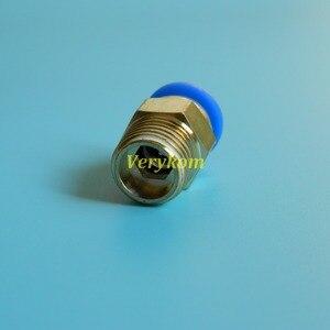 """Image 4 - 100ピース/ロットverykom空気圧8ミリメートルチューブプッシュで1/4インチ1/4 """"bspスレッド男性ストレートエアフィッティングホースパイプコネクタpc8 02"""