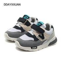 Дитячі повсякденні кросівки Дитячі взуття для хлопчиків Мода для дівчат Дитяча повітряна сітка Дихаюча анти-слизька м'яка біла спортивна башмака