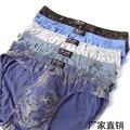 Горячие продажи 5 шт. 100% cotton underwear ультра-большой размер мужские трусы мужской цветной Печати трусы