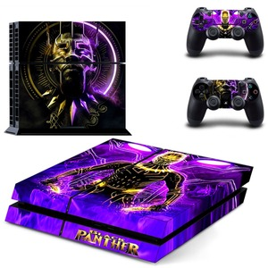 Image 5 - The Avengers Black Panther PS4 Skin Sticker Decal Vinyl for Sony Playstation 4 Console and 2 Controllers PS4 Skin Sticker