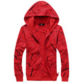 New fashion men fashion hoodies sweatshirt casual cardigans outwear 4 colors M L XL XXL 3XL