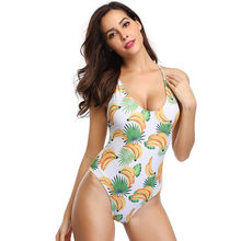 Musim Panas Pantai Bikini Wanita Sunscreen Floral Cetak K Berlaku Swimsuit Push Up Bikini Memandikan Beachwear Swimwear 5.13(China)