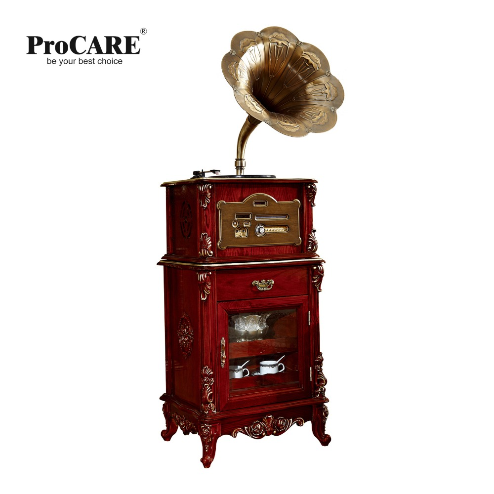 Phonograph decoration for luxury European style furniture set