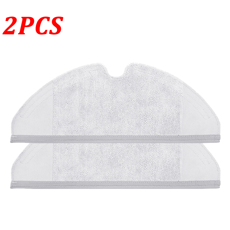 2PCS Dry Wet Mop Cloths For Xiaomi Generation 2 For Roborock S50 S51 Vacuum Cleaner Parts Clean Mopping Cloth