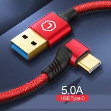 كابل يو اس بي نوع C كابل ل xiaomi huawei USB C كابل 3.1 ل ماك بوك نوع C كابل ل samsung lg oneplus sony nokia motorola 2 m