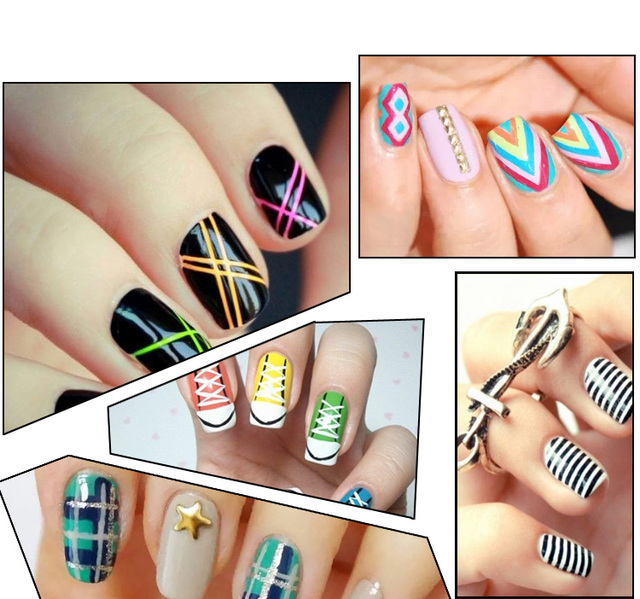 16 Colors Can Choose Nail Art Pen Painting Polish Dot Drawing UV Gel ...